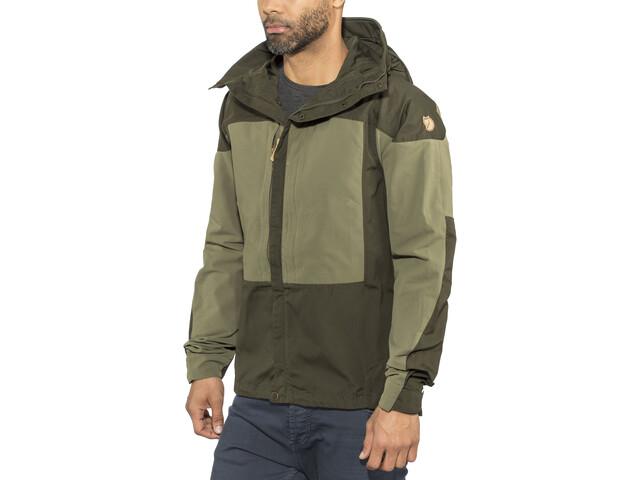 komplettes Angebot an Artikeln günstig kaufen aktuelles Styling Fjällräven Keb Jacket Men deep forest-laurel green